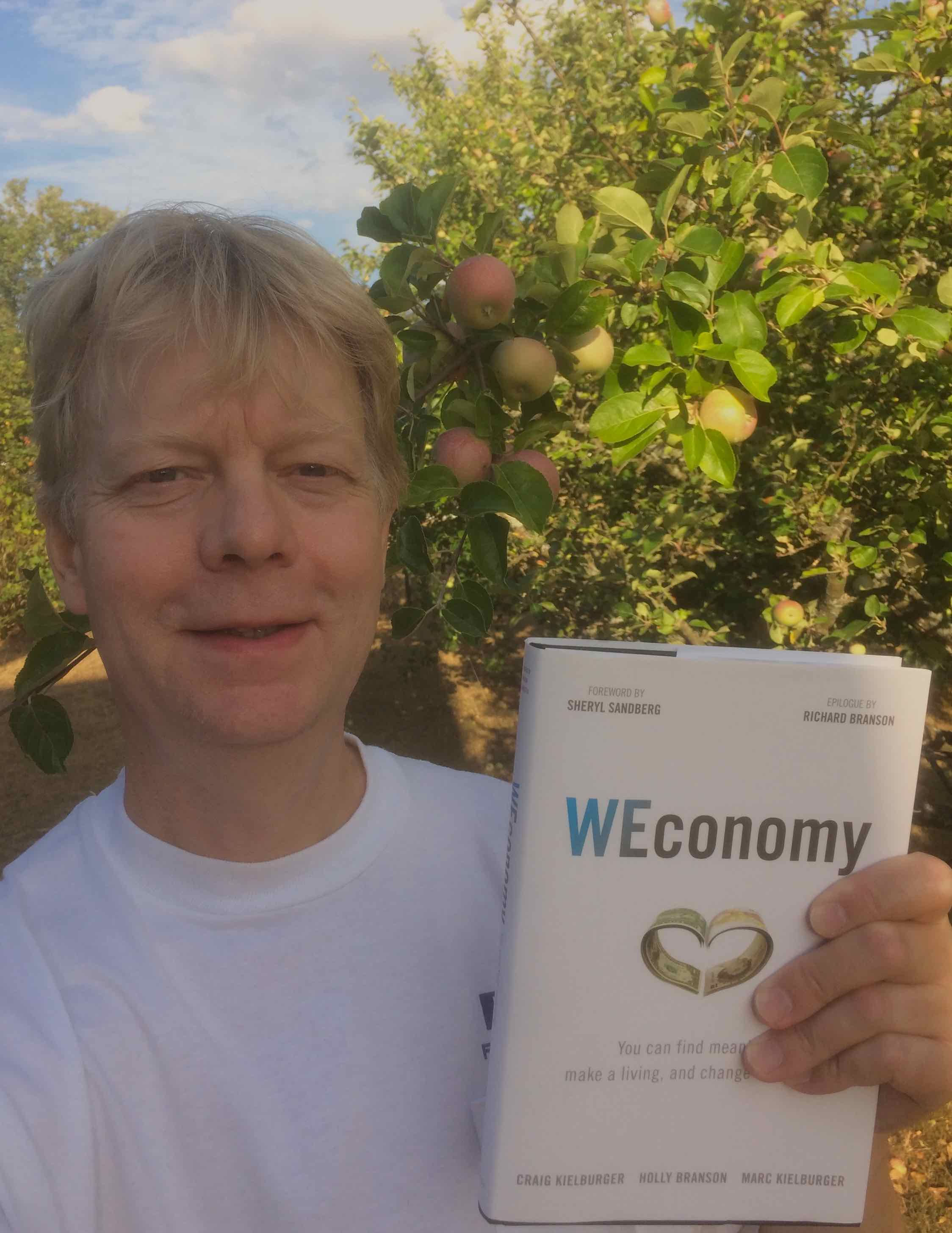 I have read WEconomy [photo: Henrik Hemrin]