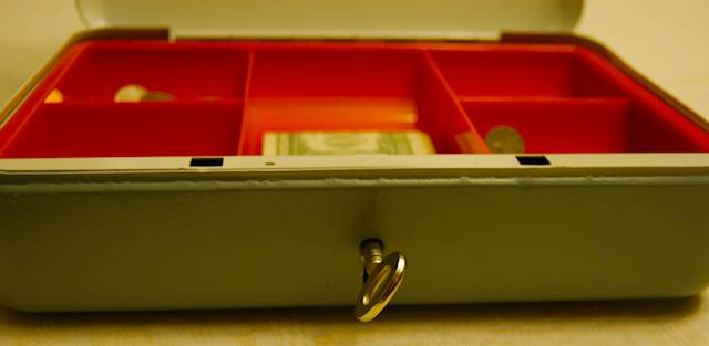 How safe are your keys to your accounts? [Photo: Henrik Hemrin]