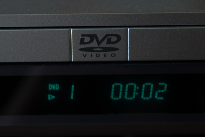 DVD player [photo: Henrik Hemrin]